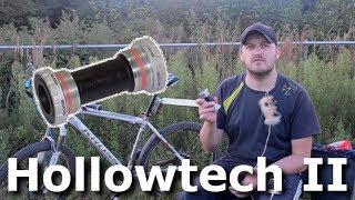 каретка типа Hollowtech II - стоит установить