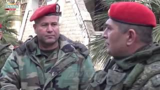 Военная полиция в Алеппо/Russian military police in Aleppo.