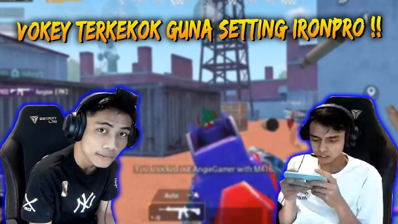 Vokey Guna Phone IronPro !! Kekok Guna Gyroscope | PUBG Mobile Malaysia