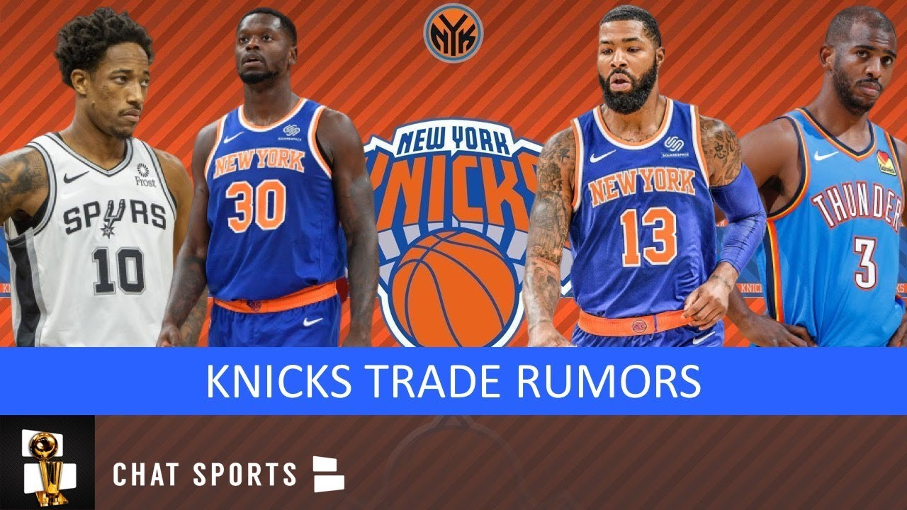 Knicks Trade Marcus Morris For Future Assets