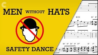 Piano - The Safety Dance - Men Without Hats - Sheet Music, Chords, & Vocals