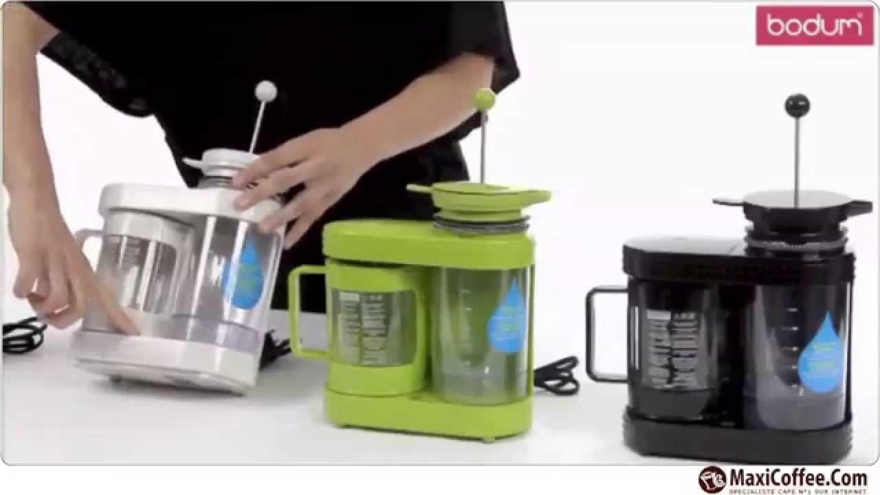 Cafeti re piston lectrique de bodum 11462 294euro - Fonctionnement cafetiere a piston ...