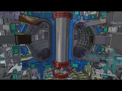 Fly-through the ITER machine