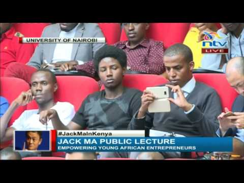 Jack Ma's - Empowering Young African Entrepreneurs In Nairobi