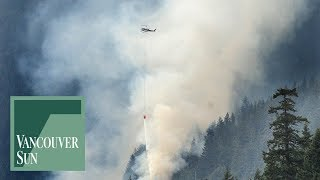 Strip Creek fire rages on | Vancouver Sun