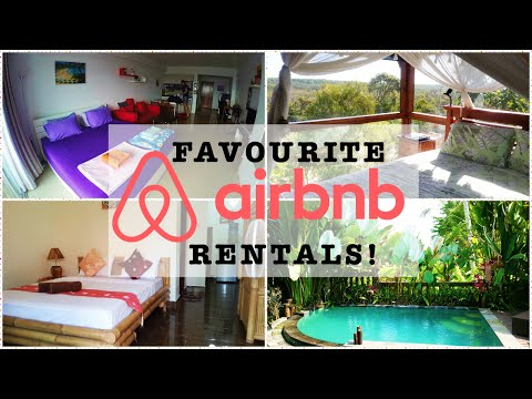 MY FAVOURITE AIRBNB RENTALS... SO FAR!