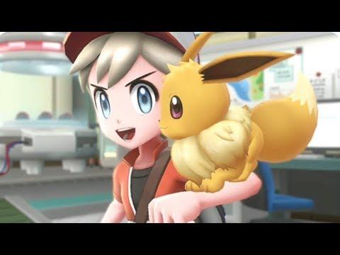 Pokemon Let's Go Pikachu & Eevee - Walkthrough - #01 - 2 Player Co-Op