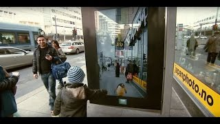 JCDecaux Norway - BBC Earth augmented reality bus shelters - April 2015