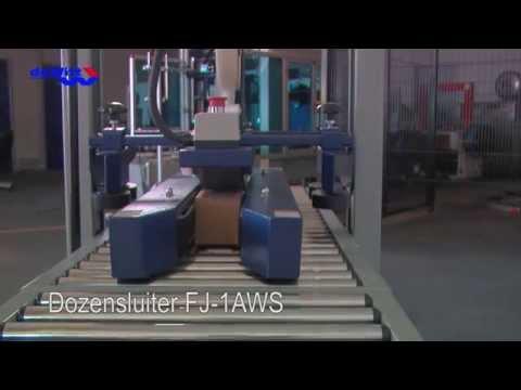 Dozensluiter 1AWS geschikt voor lage, smalle en kleine doosjes