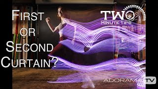First or Second Curtain: Two Minute Tips with David Bergman