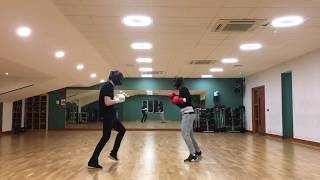 Boxing Sparring Session Highlights
