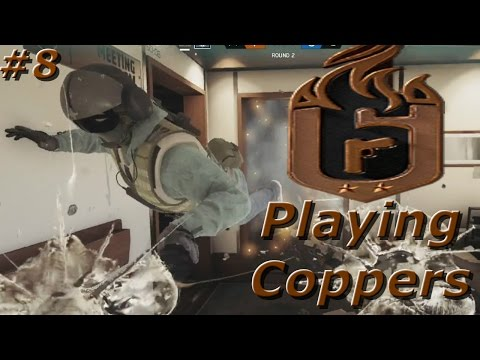Behind Enemy Lines! Road To Copper - Rainbow Six Siege Funny Moments