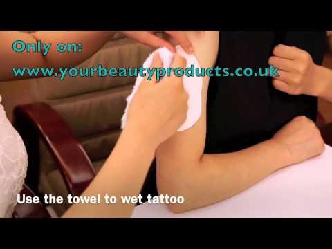 How To Put Gem Tattoo Easy Steps To Apply Tattoo With Swarovski Elements