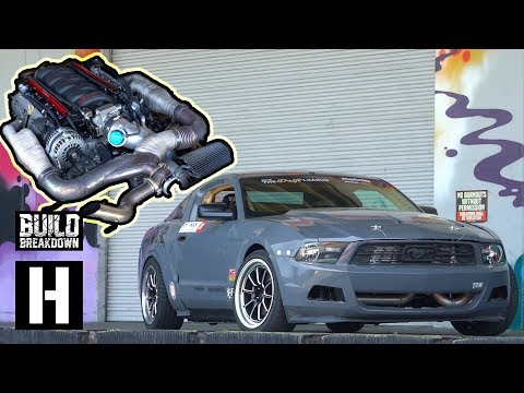 Chevy Powered Ford Mustang Wrecks the Yard