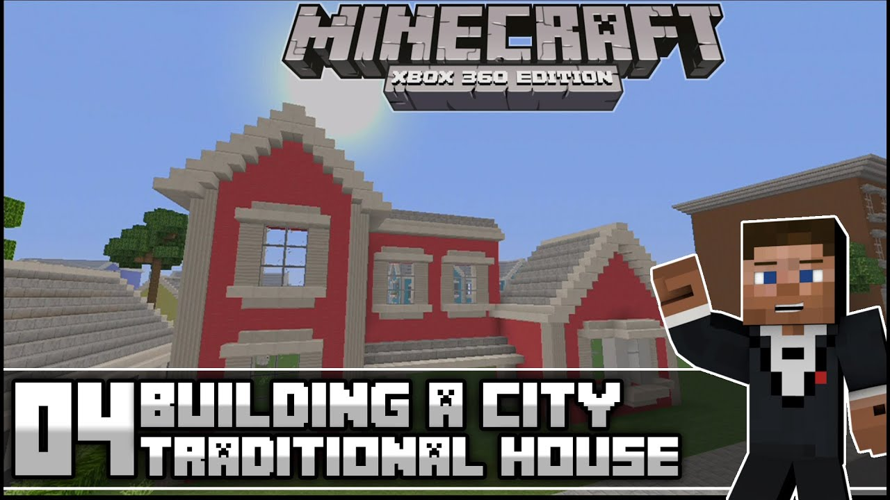 Minecraft xbox 360 building a modern city episode 4 for Modern house xbox minecraft