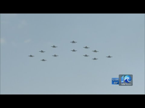 Carrier Air Wing Eight squadrons return home