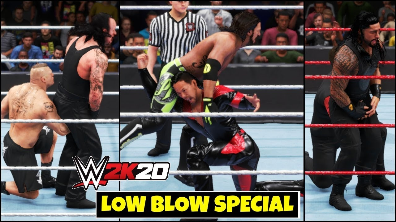 WWE 2K20 'LOW BLOW ABILITY' Special Gameplay ! FAIL GAME LIVE 2K20 THEME GAMEPLAY |