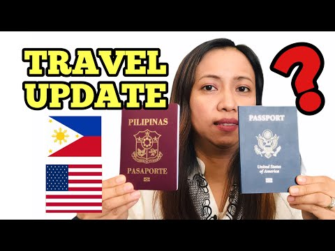 🇵🇭 PHILIPPINES TRAVEL UPDATE |  WHICH PASSPORT TO USE FOR DUAL CITIZENS 🇵🇭🇺🇸