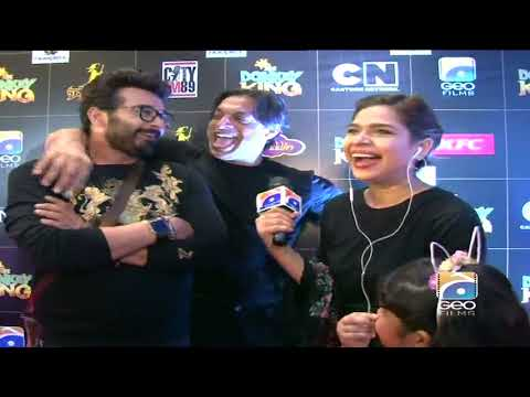 The Donkey King - Red Carpet Premiere - Meeting Faisal Qureshi & Shoaib Akhtar