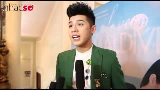 Phỏng vấn Noo Phước Thịnh trong buổi ra mắt MV Chuyện Tình Maldives