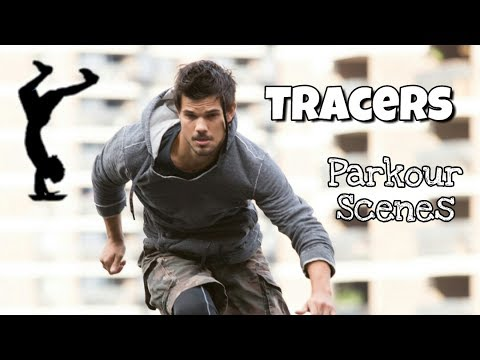 TRACERS (2015) - All Parkour Scenes || with Taylor Lautner