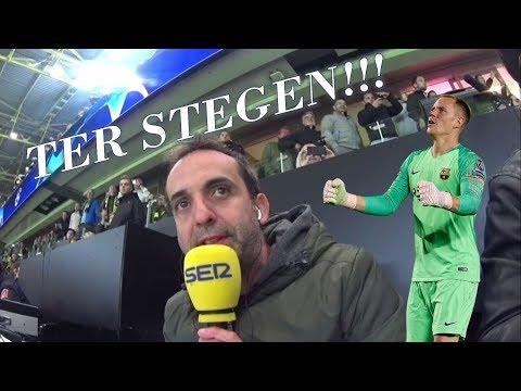 TER STEGEN!!! Así te narró Lluis Flaquer el penalti que salvó el portero del Barça en Champions