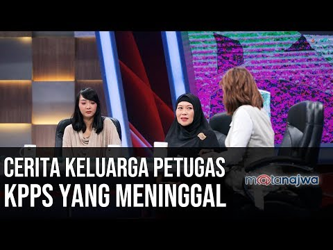 Demi Demokrasi: Cerita Keluarga Petugas KPPS yang Meninggal (Part 1)   Mata Najwa