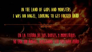 Repeat youtube video Lana del Rey - Gods And Monsters (English/Español)