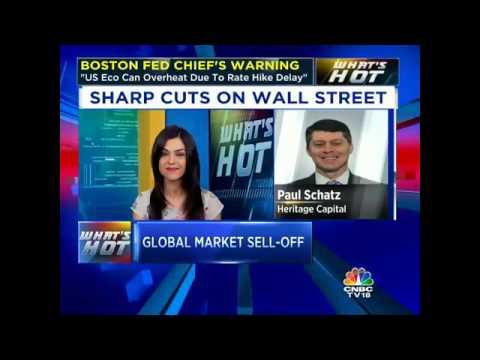 SHARP CUTS ON WALL STREET. GLOBAL MARKET SELL-OFF.
