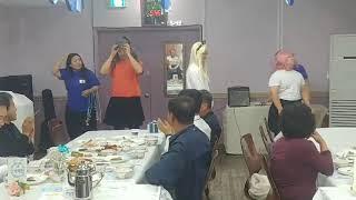 오렌지 카라멜 아잉 송전교회 해피코스