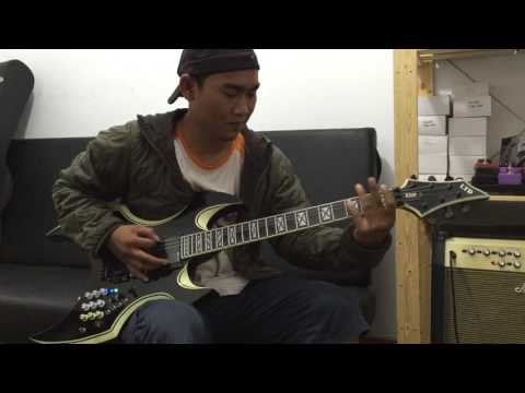 Guitar metal modifikasi Indonesia | gila keren banget
