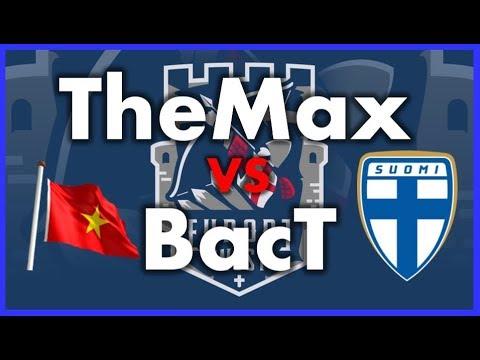 8vos de FINAL - TheMax vs BacT - Torneo 2800 U$D - ECL 1v1