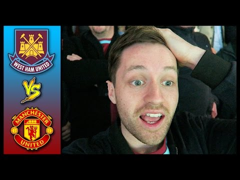 WEST HAM VS MAN UNITED - FA CUP QUARTER-FINAL