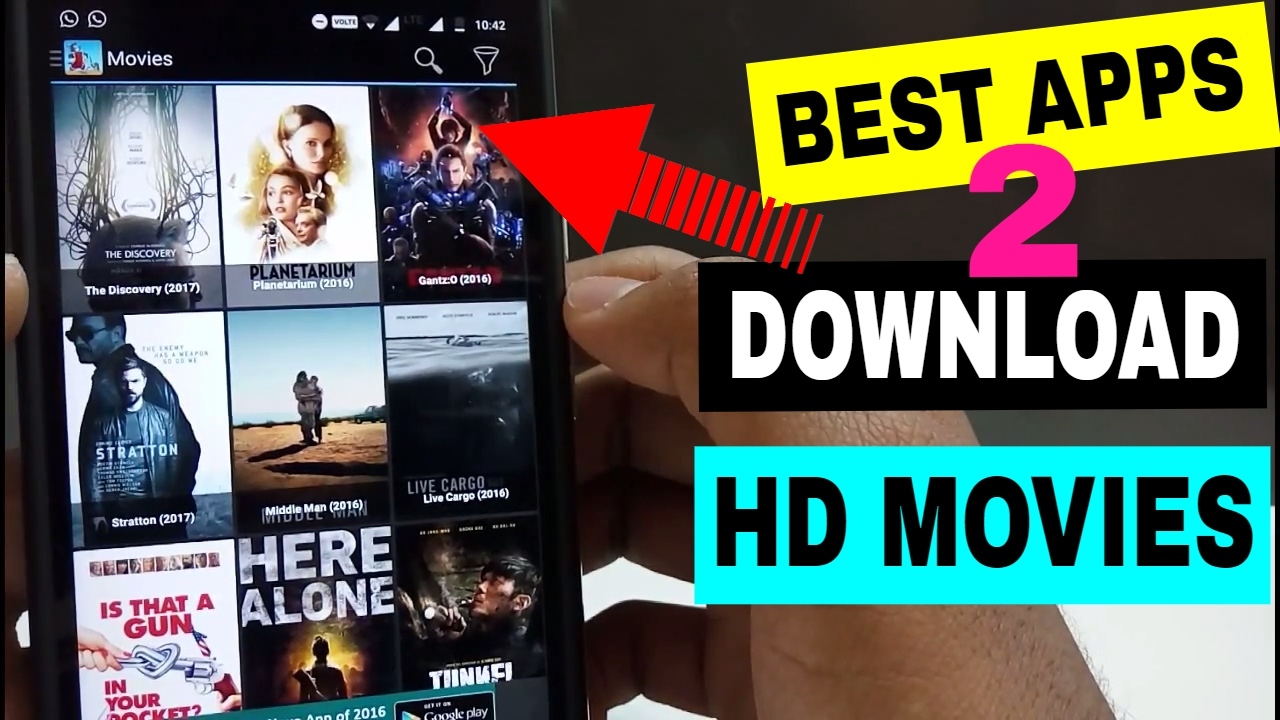 best apps to download hd movies | may 2017 - youtube