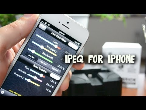 ipEQ for iPhone - Add a Built In Equalizer To Your Music App For iPhone & iPod Touch