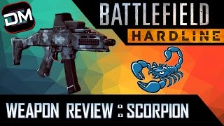 The Little Bullet Hose! | Battlefield Hardline Scorpion Gun Review