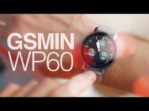 Обзор GSMIN WP60 - электронные часы с измерением давления, пульса и ЭКГ