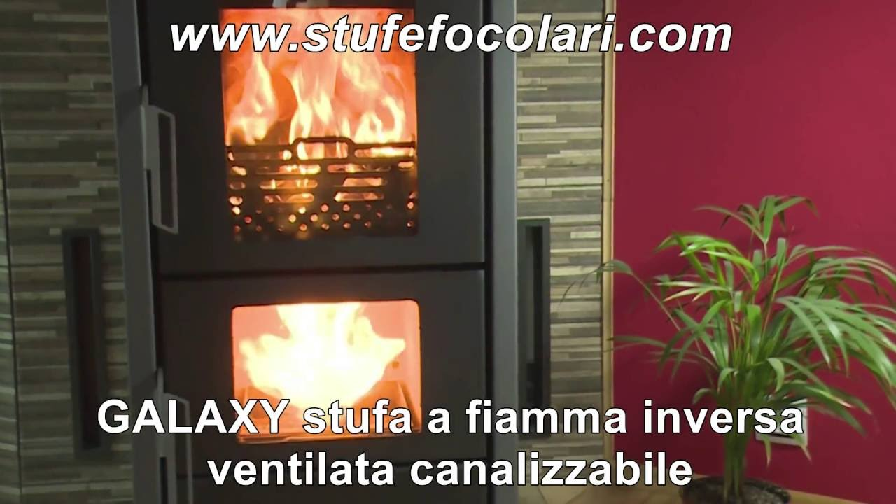 Combustione a fiamma inversa youtube for Stufe pirolitiche
