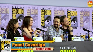 Lin-Manuel Miranda | His Dark Materials Panel | San Diego Comic Con