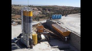 ins makina 145 m3 saat mobil beton santrali mobile concrete batching plant