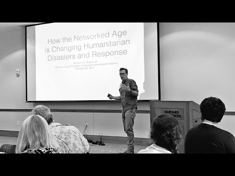 How the Networked Age is Changing Humanitarian Disasters