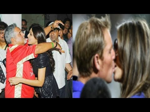 Shilpa Shetty का Shocking Kiss से Hug तक | Shilpa's Shocking Kissing And Hug Moment In IPL