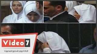 بالفيديو.. وصول برديس وشاكيرا محكمة شمال الجيزة لحضور الاستئناف على حبسهما 6 أشهر