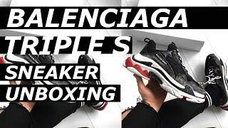 Video BALENCIAGA TRIPLE S Sneaker Unboxing | Hypebeast, Designer, Luxury, On Feet, Haul  | Gallucks download MP3, 3GP, MP4, WEBM, AVI, FLV Agustus 2018