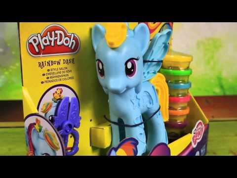 Rainbow Dash Style Salon  Playset - My Little Pony - Play-Doh