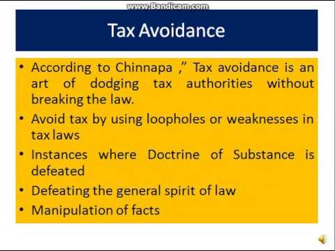 Tutorial on Tax Planning under Corporate Tax Planning