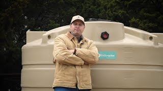 This Water Storage Tank Eliminates Algae Growth & Keeps Water Cooler!