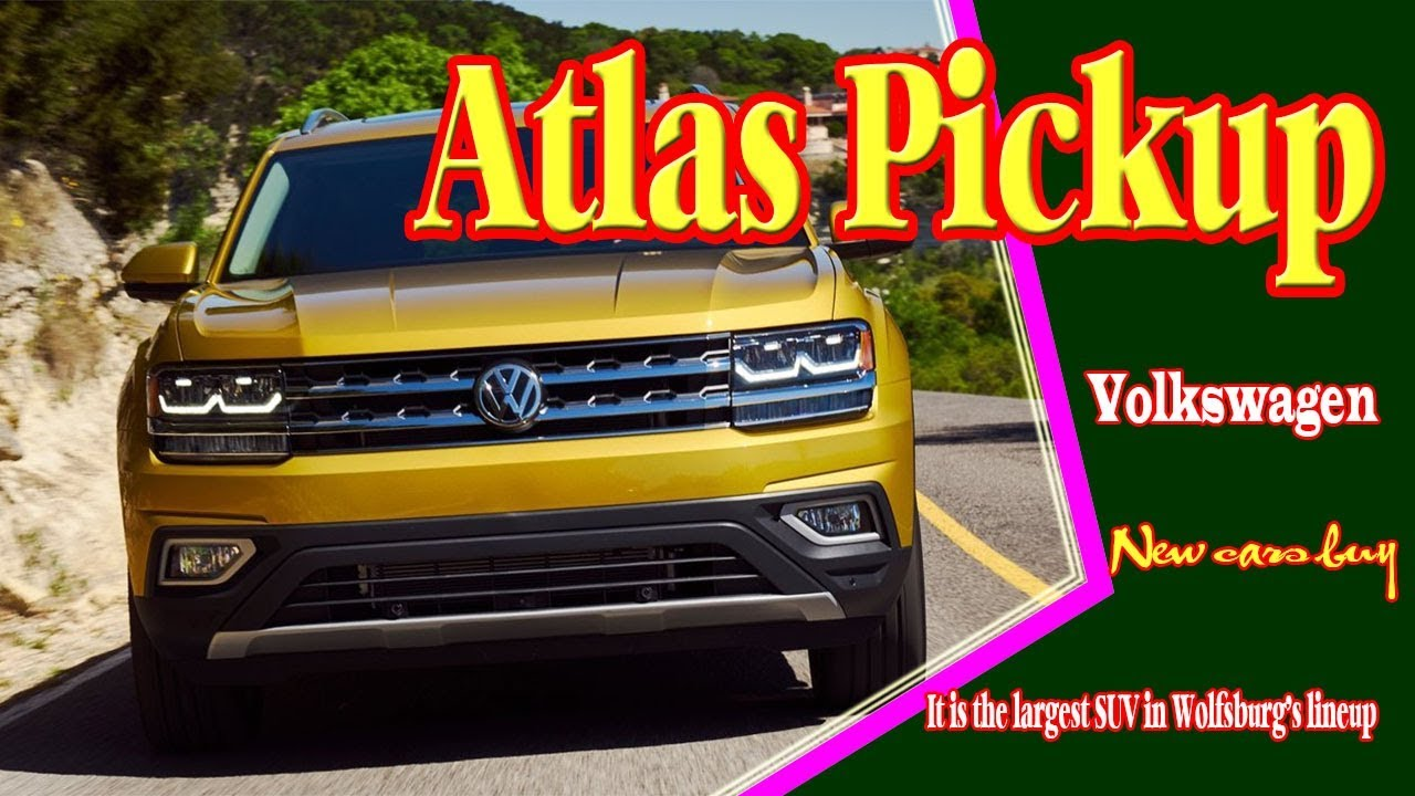 2019 volkswagen vw atlas pickup 2019 vw atlas pickup. Black Bedroom Furniture Sets. Home Design Ideas
