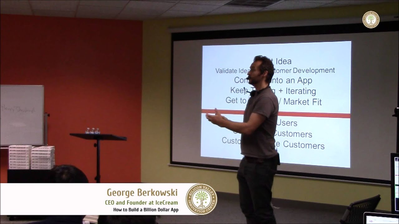 George Berkowski: How to build amazing things? - YouTube