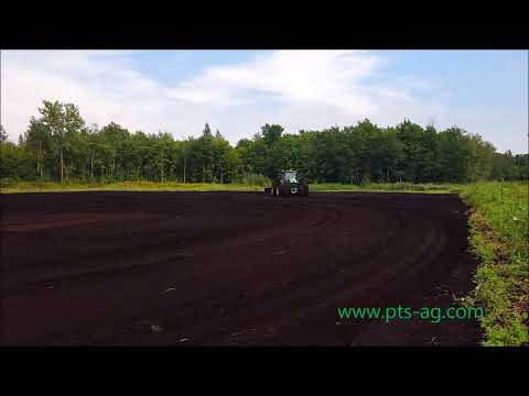 Land Forming with T3C in Quebec Canada